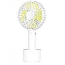 Портативный вентилятор ручной SOLOVE Manual Fan N9 (White/Yellow)