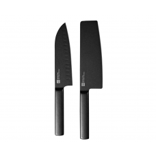 Набор кухонных ножей  Xiaomi Huo Hou Black Heat Knife Set (2 шт) HU0015