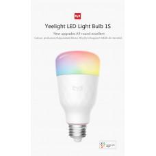 Умная WIFI Лампочка Yeelight LED Light Bulb 1S (YLDP13YL)